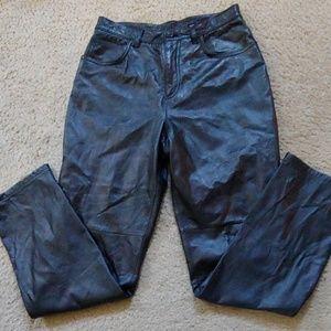 Jones new york leather pants